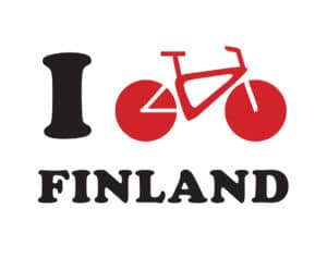 I cycle Finland logo